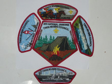 2013 National Jamboree JSP - Twin Rivers Council, 5 pieces