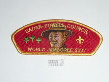 2007 World Jamboree JSP - Baden Powell Council
