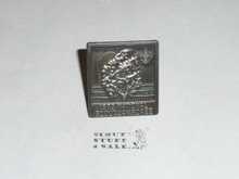 1973 National Jamboree Pewter Neckerchief Slide