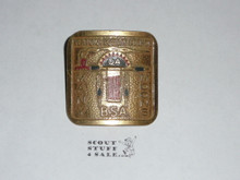 Order of the Arrow Lodge #291 Topa Topa SCARCE Metal Neckerchief Slide