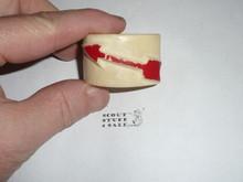 Order of the Arrow ARROW Bone or plastic Neckerchief Slide