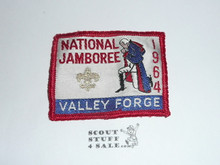 1964 National Jamboree Woven Patch, lite use