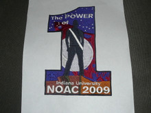 National Order of the Arrow Conference (NOAC), 2009 Jacket / Back Patch