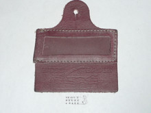 Wood Badge Leather Name Tag #6, unused