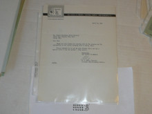 1963 Letter on Boy Scout National Headquarters Stationary