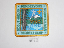 Verdugo Hills Council Resident Camp Patch, 1999
