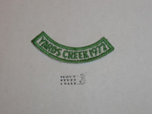 Yards Creek Scout Reservation, 1972 Camp Segment