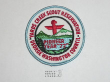 Yards Creek Scout Reservation, 1972