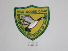 Wild Goose Camp Patch, Boston Council