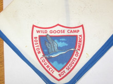 Wild Goose Camp Neckerchief, Boston Council