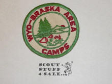 Wyo-Braska Area Council Camps, Patch, c/e twil