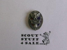 Eagle Scout Cuff Link, 1940's STERLING Silver, Type 3 style of pin, VERY RARE