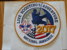 "2017 National Jamboree Large 8"" Jacket Patch"