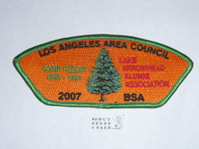 Los Angeles Area Council sa92 - 2007 Camp Cedar Lake Arrowhead Alumni Assoc