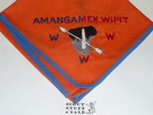 Order of the Arrow Lodge #470 Amangamek-Wipit n2 Embroidered Neckerchief