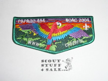 Order of the Arrow Lodge #494 Papago s32 2004 NOAC Flap Patch