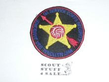 1997 National Jamboree Order of the Arrow Service Corp Security Patch