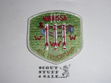 Order of the Arrow Lodge #118 Wahissa 1968 Fall Fellowship Patch