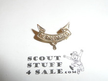 2nd Class Scout Rank Pin, Post Back, 17mm Wide