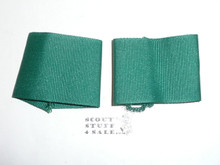 Boy Scout Program Olive Green CURRENT Uniform Epaulets, set (color off in picture)