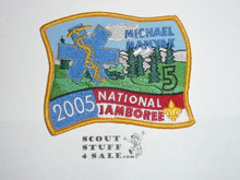 2005 National Jamboree Subcamp 5 Patch, Michael Manvak