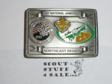 2001 National Jamboree Northeast Region Belt Buckle