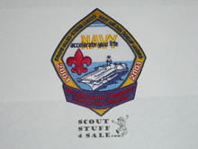 2001 National Jamboree US Navy Patch
