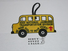2001 National Jamboree Transportation Division Patch