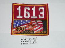 2001 National Jamboree JSP - Troop 1613 National Patch