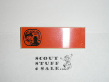 1981 National Jamboree Unengraved Name Tag