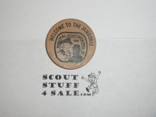 1981 National Jamboree Wooden Nickel, From a Former Scout