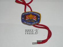 1985 National Jamboree Wood Bolo Tie