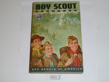 1969 Boy Scout Handbook, Seventh Edition, Fifth Printing, Lite Use, Don Lupo Cover