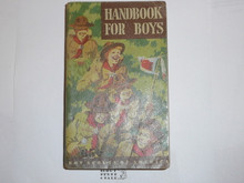 1948 Boy Scout Handbook, Fifth Edition, First Printing, Don Ross Cover Artwork, MINT condition, five stars on last page