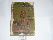 1925 Boy Scout Handbook, Second Edition, Thirty-first Printing, spine and cover wear #2