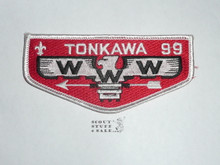 Order of the Arrow Lodge #99 Tonkawa s17 Flap Patch