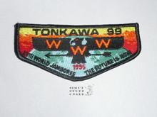 Order of the Arrow Lodge #99 Tonkawa s22 1995 World Jamboree Flap Patch