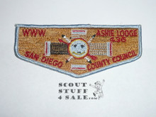 Order of the Arrow Lodge #436 Ashie s6 Flap Patch