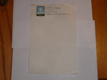 1967 Boy Scout World Jamboree Official Stationary, Unused