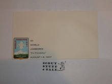 1967 Boy Scout World Jamboree Official Envelope, Unused