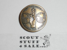 1967 Boy Scout World Jamboree Official Friendship Neckerchief Slide