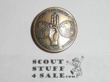 1967 Boy Scout World Jamboree Official Friendship Neckerchief Slide