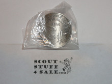 1987-1988 Boy Scout World Jamboree USA Contingent Neckerchief Slide