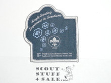 2011 Boy Scout World Jamboree Offical Particpant Patch