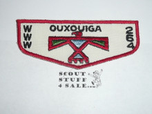 Order of the Arrow Lodge #264 Ouxouiga f1 Flap Patch