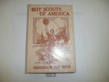 1911 Boy Scout Handbook REPRINT, 1978 printing, MINT condition