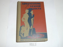 1945 Adventuring for Senior Scouts, First Edition, 1945 Printing
