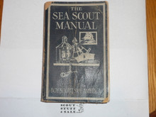 1939 The Sea Scout Manual, Sixth Edition, First Printing, good used condition