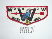 Order of the Arrow Lodge #290 Wazi Yata f2b Flap Patch