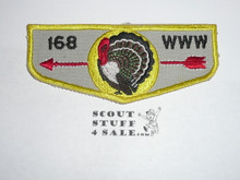 Order of the Arrow Lodge #168 Unalachtigo f3 Flap Patch